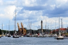 Start Regat Baltic Polonez Cup 2013 foto Sailportal.pl