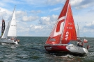 Falkor Start Regat Baltic Polonez Cup 2013 foto Sailportal.pl